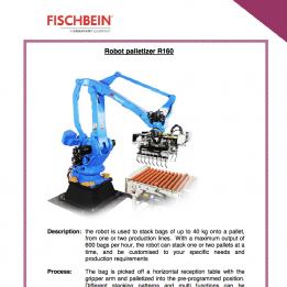 Fischbein brochure robot de palettisation