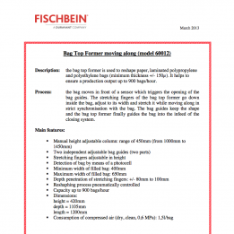 Fischbein brochure BTF Moving Along 60012