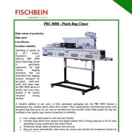 Fischbein brochure PBC8000