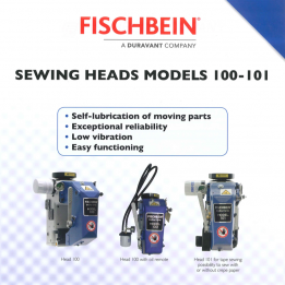 Fischbein brochure sewing heads 100-101