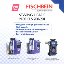 Fischbein Sewing heads - Models 200-201