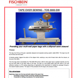 Fischbein brochure PDF TOS 3000 SW