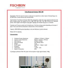Fischbein brochure PDF TRS 100